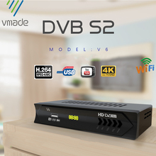 Yeni DVB S2 HD 1080P uydu TV alıcısı DVB S2 uydu alıcısı avrupa dekoder desteği youtube güç vu Biss TV Tuner