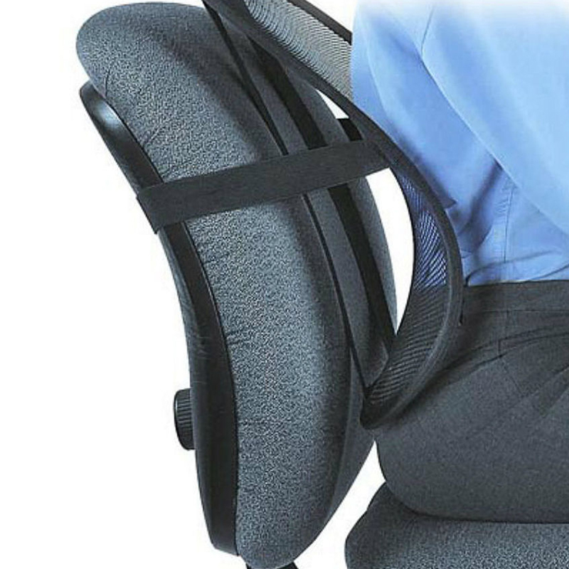 2020 New Arrival Universal Office Chair Lumbar Back Support Spine Posture Correction Back Pillow Car Cushion For Car Truck Seat