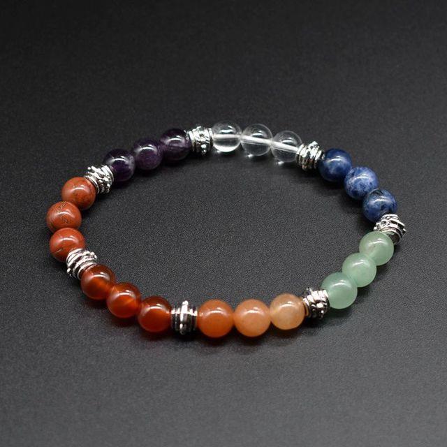 8MM Chakra Bracelet Jewelry...