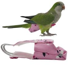 Cockatiel Parrot Diaper Pigeons Bird Large Pet Medium Flight-Suit Feces-Pocket
