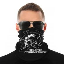 Kojima Productions Metal Gear Solid Sjaal Hals Gezichtsmasker Mode Tube Mask Neck Bandana Stofdicht Hoofddeksels Outdoor Wandelen(China)