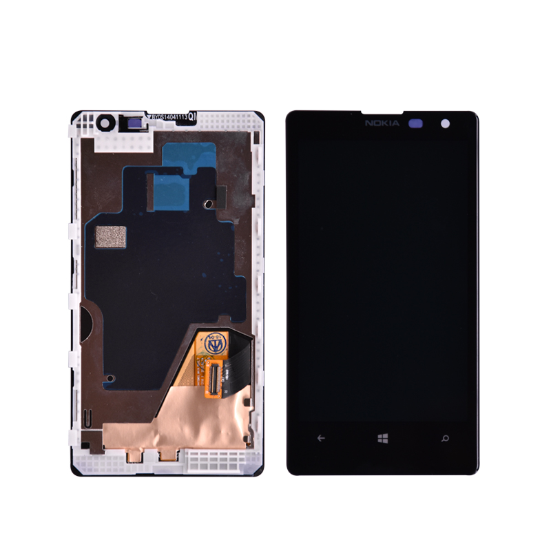 For Nokia Lumia 1020 <font><b>LCD</b></font> Display <font><b>with</b></font> <font><b>Touch</b></font> Screen Digitizer Assembly <font><b>with</b></font> frame for Nokia 909 RM-875 RM-876 <font><b>4.5</b></font> <font><b>inch</b></font> <font><b>lcd</b></font> screen image