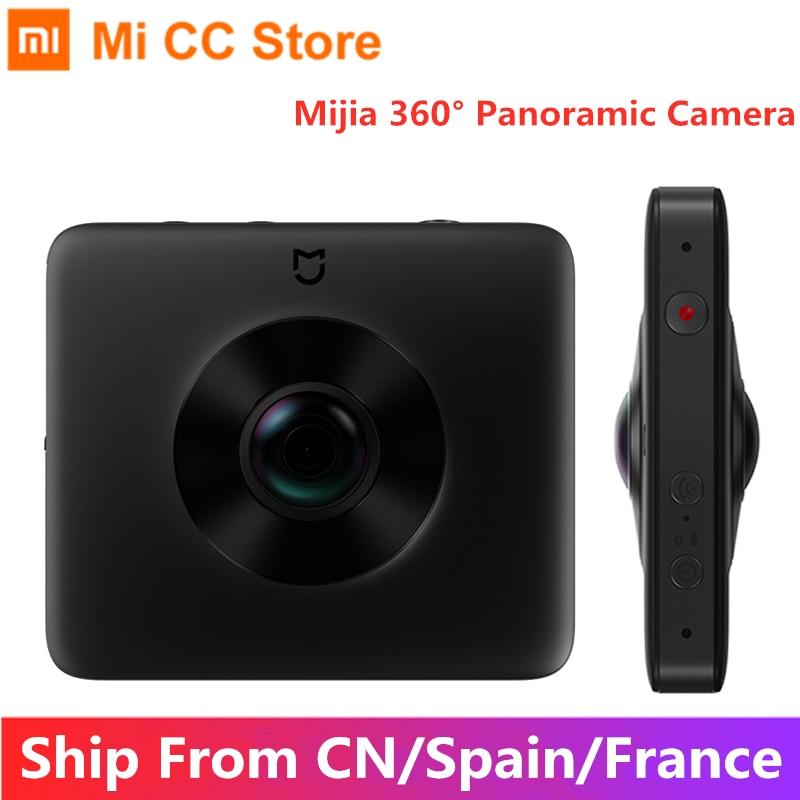 Xiaomi Mijia 360 ° панорамная камера IP67 с 6 осями EIS Wi-Fi Bluetooth 3,5 K Запись видео 1600mAh аккумулятор Сфера камера комплект