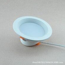 Светодиодный светильник белый Чистый Металл алюминиевый корпус сильный Интеллектуальный диск прожекторы высокий свет тепловыделение