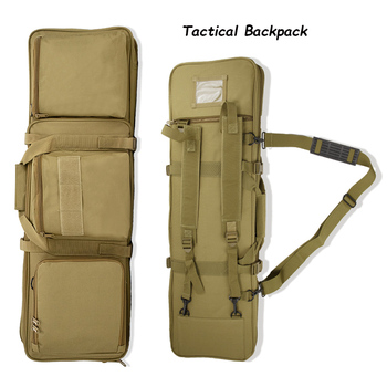 1000D Nylon Molle Bag Pouch Tactical Backpack Military Gear Shooting Sniper Airsoft Gun Holster Rifle Case Hunting Accessories 1000d nylon tactical m249 gun bag hunting shooting rifle case gun holster army military airsoft paintball sniper protection bag