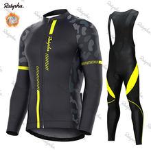 Ralvpha – ensemble de cyclisme en polaire thermique, vêtement de course, uniforme de vélo, Ropa Ciclismo, 2021