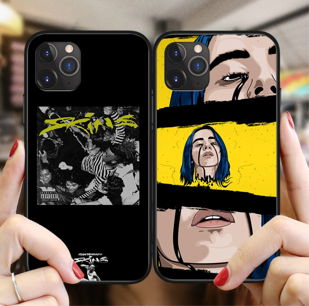 <font><b>XXXtentacion</b></font> bad vibes forever Billy Eilishs Cover Phone <font><b>Case</b></font> For <font><b>iPhone</b></font> 11 Pro Max <font><b>6</b></font> 6S 7 8 Plus X XS XR Soft silicone Cover image