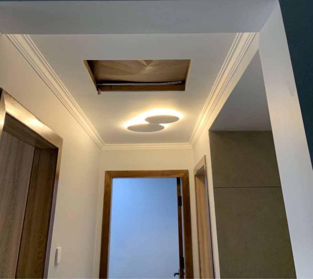 Где купить Современный Креативный светодиодный потолочный светильник eclipse, лестница, коридор, задний фон для спальни, прикроватный круглый потолочный светильник для гостиной