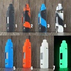 2021 coloré mat housses de protection manchon peau coque en Silicone pour Voopoo glisser X Kit Cigarette électronique