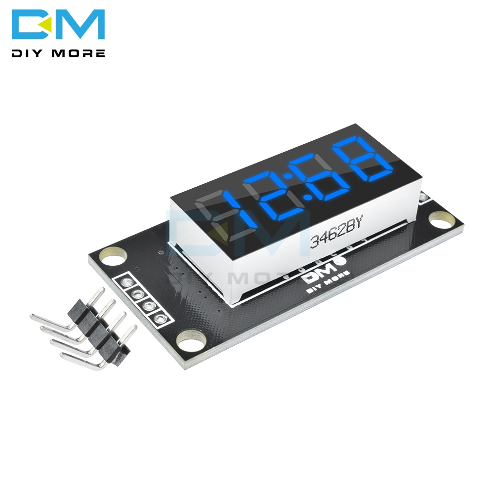 4-digit 7-segment Display Module Blue LED Board 0.36