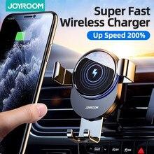 15w qi suporte do telefone do carro carregador sem fio montagem carro infravermelho inteligente para montagem de ventilação de ar carregador de carro sem fio para iphone12 pro