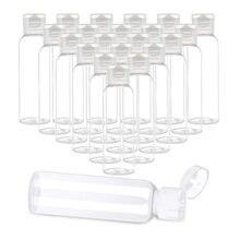 5PCS Portable Lotion Bottle 10ML 30ML 50ML 60ML 100ML Travel Small Bottle Shampoo Cosmetic Lotion Container Plastic Bottle