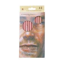 12 шт профессиональные мягкие пастельные карандаши деревянный