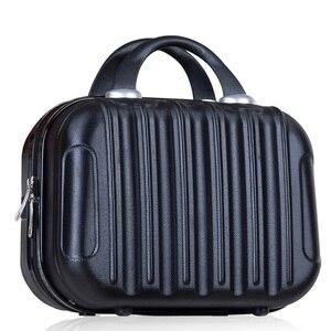 Image 2 - Women Professional Makeup Bag Suitcase Waterproof Travel Cosmetic Bag Beautician Toiletries Organizer Female Make up Bags Case