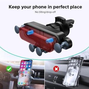 Image 3 - GETIHU 중력 자동차 전화 홀더 공기 환기 클립 마운트 아이폰 11 프로 X XR xiaomi에 대한 자동차 스탠드에 자기 휴대 전화 지원 없음