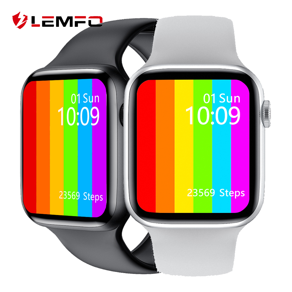 LEMFO W46 Smart Watch 2020 1 75 Inch 320 385 HD Display ECG Body Temperature IP68 Waterproof Smartwatch Men PK IWO 12 Pro W26