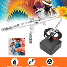 Air-Compressor Spray-Pump Air-Spray-Machine-Kit Art-Painting Portable for Makeup Craft