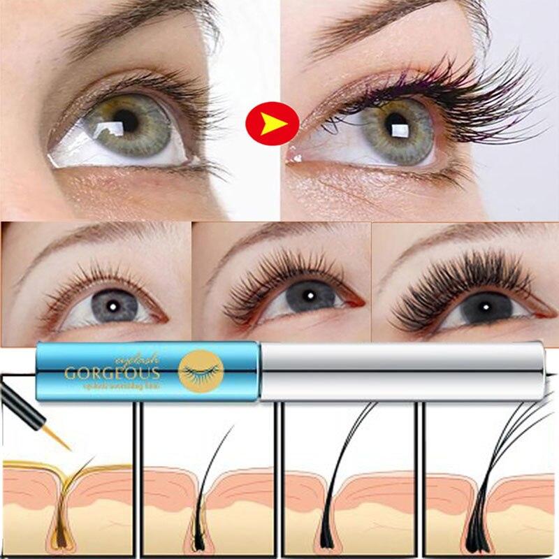 Eyelash Enhancer Growing Serum Essence Eye Lash Oil Eyelashes Growth Eyebrow Natural Longer Thicker Essential Eyes Care