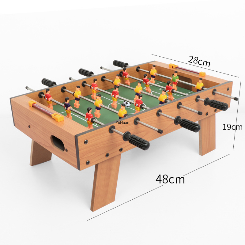 Children's Game Football Table Soccer Table Board Game Parent-child Tabletop Soccer Foosball Table Suitable for 3-10 Years Old Herbal Products