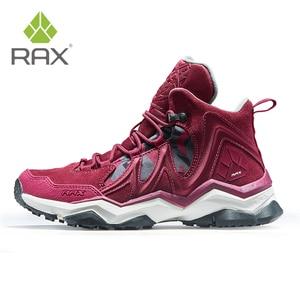 Image 3 - RAX Men Hiking Shoes winter Waterproof Outdoor Sneaker Men Leather Trekking Boots Trail Camping Climbing Hunting Sneakers Women