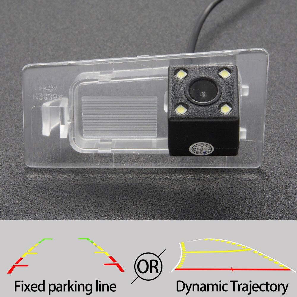 Автомобильная камера заднего вида с фиксированной или динамической траекторией, CCD для Hyundai Elantra/Avante 2011-2020 Solaris Sedan HCR 2017-2020