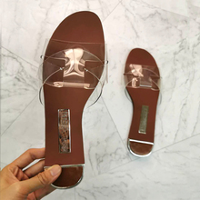 Sandals Fashion Women's Shoes Snake Comfortable Skin Wild Light Outdoor Large-Size Simple