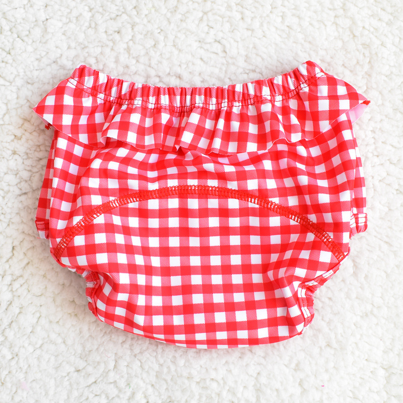 2018 New Style Baby Swimsuit Women's Swimming Pool With Leak-Proof Infants Swimming Trunks 0-1-2 Years Old Baby Cotton Lining