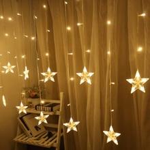 LED כוכב פיות אורות מחרוזת חג המולד גרלנד led מקורה בית מפלגת קישוט מחרוזת אור לחתונה חג