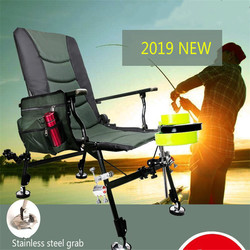 Special European Style Fishing Chair Multifunctional Folding Anti Sway Can Lie and lying Angling Supplies only one chair