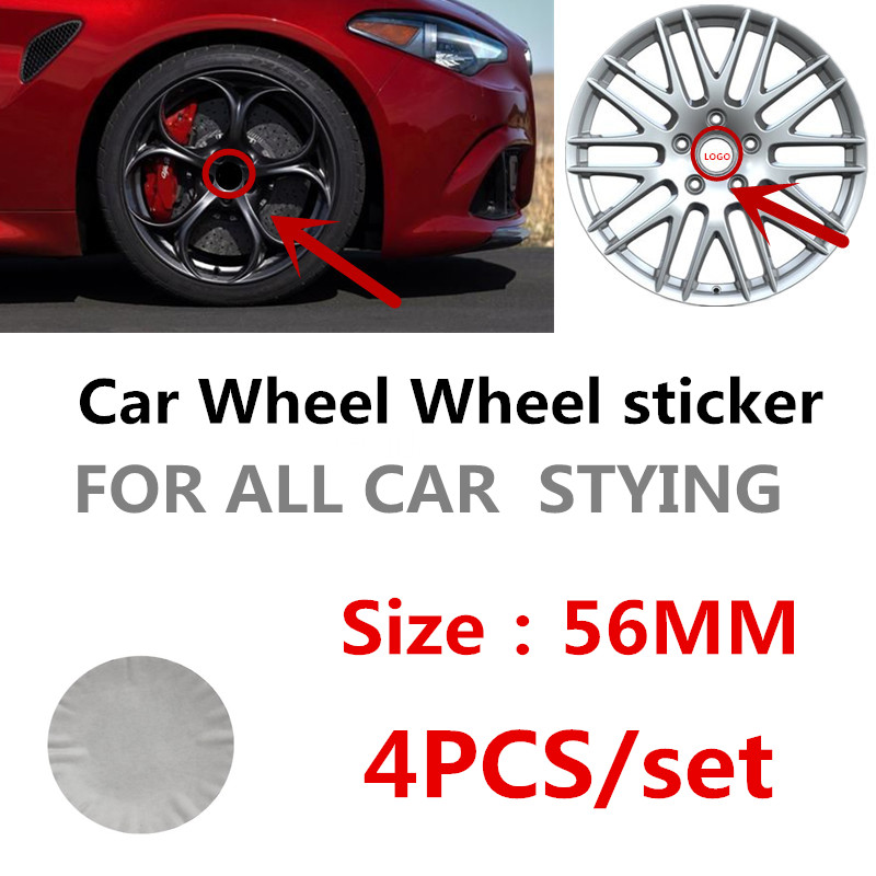 4pcs 56mm <font><b>infiniti</b></font> Car Wheel Center Cap Badge dust-proof covers emblem sticker for q30 q50 g35 g37 <font><b>fx35</b></font> <font><b>fx37</b></font> <font><b>qx70</b></font> image