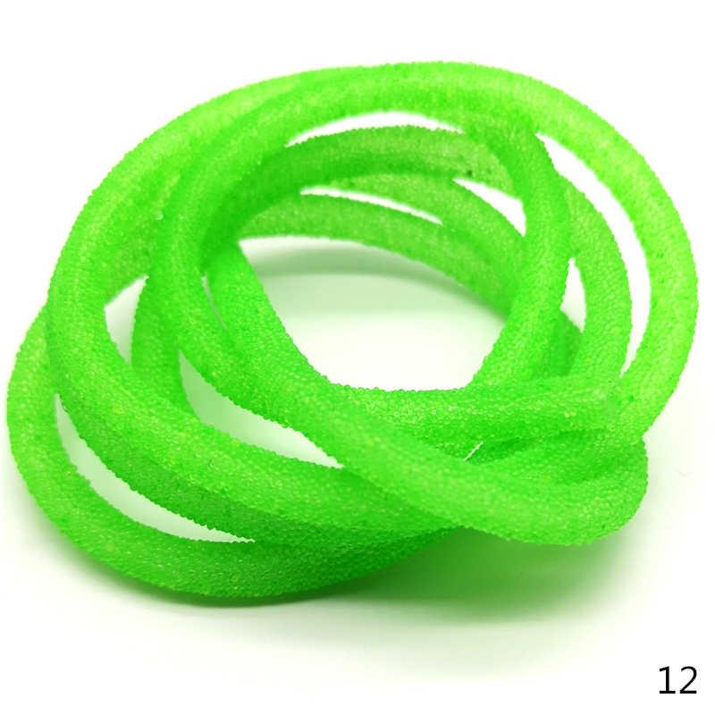 1 YARD 6 มม.หลอดเครื่องประดับเชือกลูกปัดสำหรับ Key แหวน Hairpin ทำเครื่องประดับ DIY