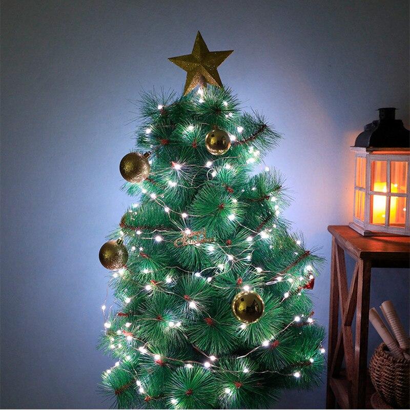 prova dwaterproof água para festa natal decoração do jardim luz da corda