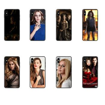 Couple Special Offer Luxury Vertical Case The Vampire Diaries 03 For iPhone 11 12 Pro 5 5S SE 5C 6 6S 7 8 X 10 XR XS Plus Max image