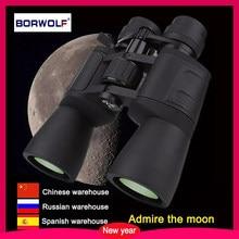 Borwolf 10-180X90 duże powiększenie HD profesjonalny Zoom mocna lornetka światło noktowizor do lunety monokularowej