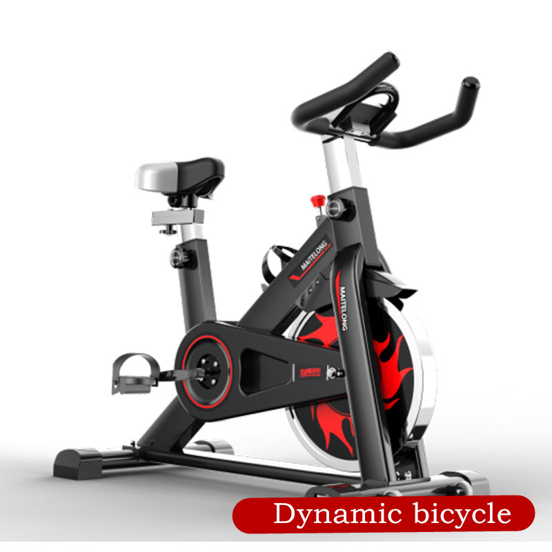 Fitness Equipment Manufacturer Direct Sales Household Indoor Intelligent Dynamic Bicycle Indoor Mute Bicycle Fitness Car Can Be