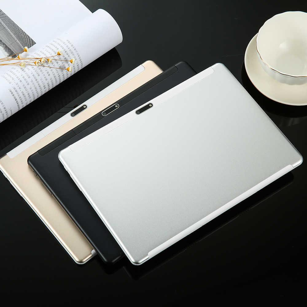 Глобальных 10 дюймов с двумя сим-картами 4 аппарат не привязан к оператору сотовой связи планшетный ПК Deca Core, размер экрана 6 ГБ Оперативная память 128 Гб Встроенная память 1920*1200 ips 8000 мА/ч, 2.5D Android 8,1 Планшеты 10,1 + подарки