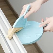 Dustpan-Set Brooms Handle Cleaning-Accessories Plastic Household Mini Desktop Brush-Combination