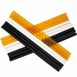 Topi się klej w sztyfcie 11x300mm czarny biały żółty klej w sztyfcie 150 stopni odporna na wysokie temperatury 11mm gorący klej