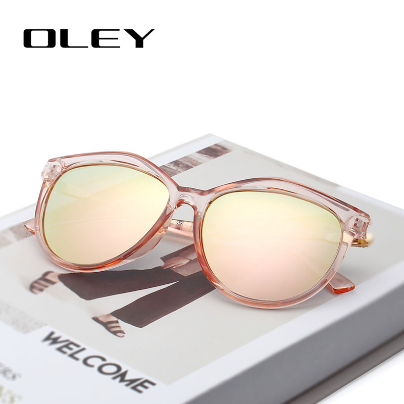 OLEY Brand Round Sunglasses Women Polarized Fashion Ladies Sun Glasses Female Vintage Shades Oculos De Sol Feminino UV400 Y7405