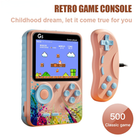 Mini consola de juegos portátil, 3 pulgadas, 500 juegos clásicos, consola Retro portátil, pantalla de 3,0 pulgadas