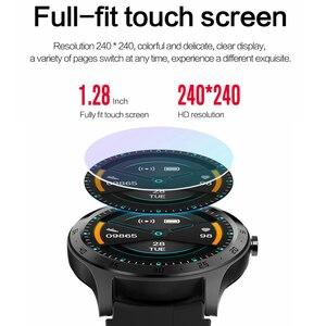 Image 2 - Lykry Smart Horloge S20 Mannen Vrouwen Volledige Ronde Touch Screen IP67 Waterdichte Hartslagmeter Sport Horloges Voor Apple Xiaomi honor