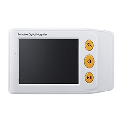 Ys008 3.5 inch Electronic Portable Video Aids Reading Lcd Digital Magnifier for Low Vision(White)