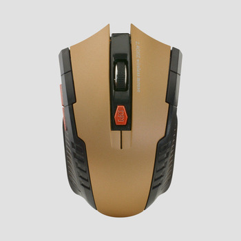 2020 Best Sellers Game mouse 2.4GHz Wireless Mice With USB Receiver Gamer 1600DPI Mouse For Computer PC Laptop Super Slim Mouse - Gold, China