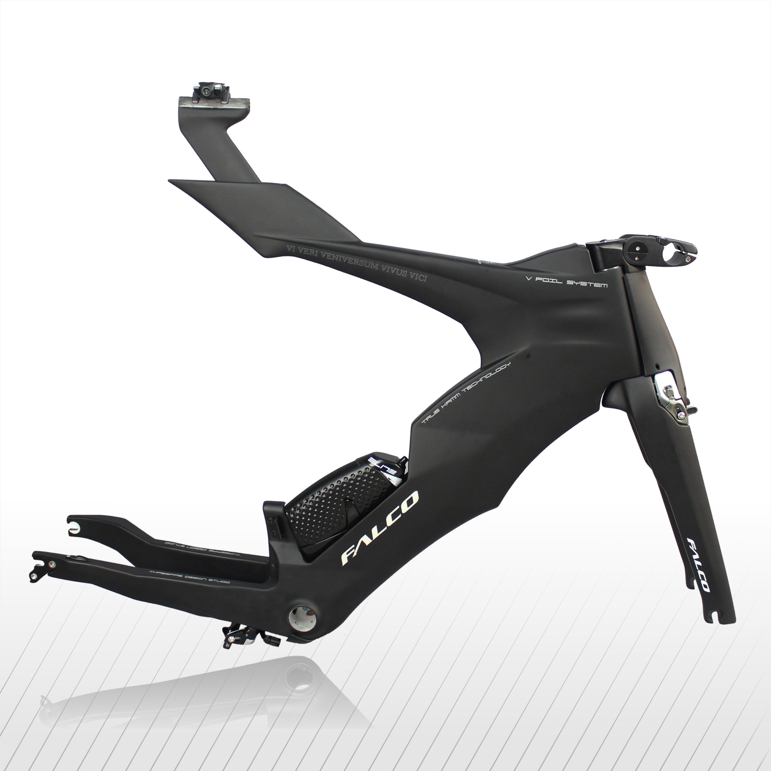 Cuadro De Carbono completo Falco v-bike de 57cm, marco de bicicleta de prueba de tiempo de fibra de carbono T700 de alta calidad, Cuadro De Carbono completa 57cm F450 450 Quadcopter de MultiCopter kit de marco de APM 2,8 w/amortiguador 7M ALIMENTACIÓN DE GPS módulo 2212 Motor 30A ala fija CES