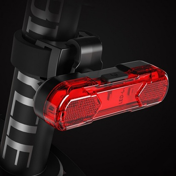 Bike Taillight Waterproof Riding Rear Light Led Usb Chargeable Mountain Bike Headlights Cycling Light Tail-lamp Bicycle Light image
