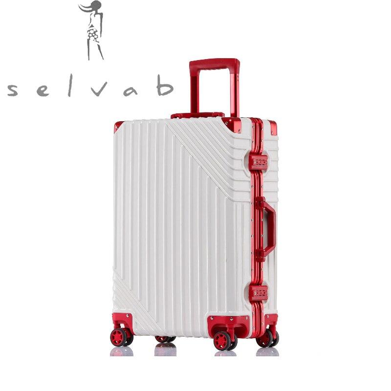 Trolley Travel Universal Wheel Suitcase Korean Female Short-distance Travel New Luxury High Quality Retro Fashion Luggage Bag