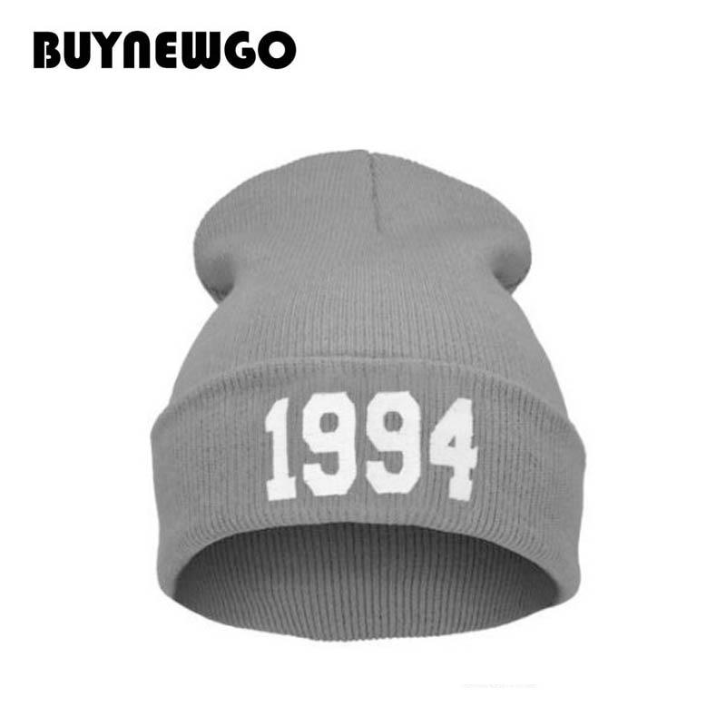 Knit Hat Ski-Headgear-Hat Wool Autumn Winter New And American 1994 Popular European