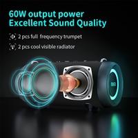 mifa A90 Bluetooth Speaker 60W Output Power Bluetooth Speaker with Class D Amplifier Excellent Bass Performace Hifi speaker 2