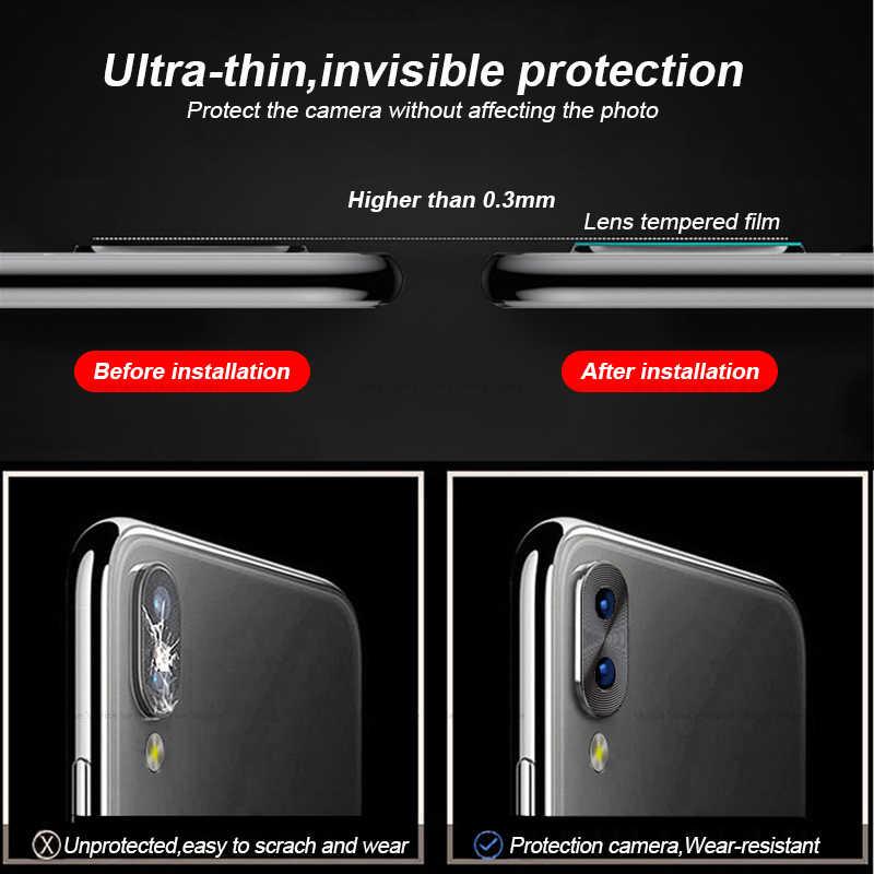 Protecteur d'objectif de caméra pour Xiaomi Redmi Note 7 anneau pour coque en métal pour caméra