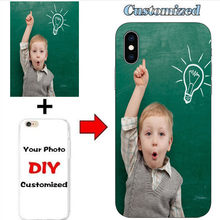 Custom Design DIY Photo Printed Phone Case for iphone 11 6 6S 7 8 Plus X 10 5 5S Soft Silicone for Samsung S6 S7 EDGE Funda(China)